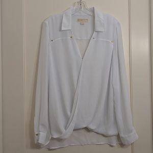 NWOT MK crossover blouse